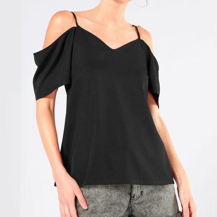 Damen Cold-Shoulder Shirt 'Eliza' für 16,11€ inkl. Versand (statt 20€)