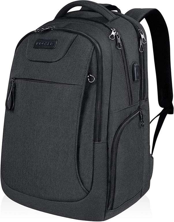 """Kroser Laptop Rucksack bzw. Daypack (Notebooks bis 17,3"""", USB-Anschluss) in 2 Farben für 19,49€"""