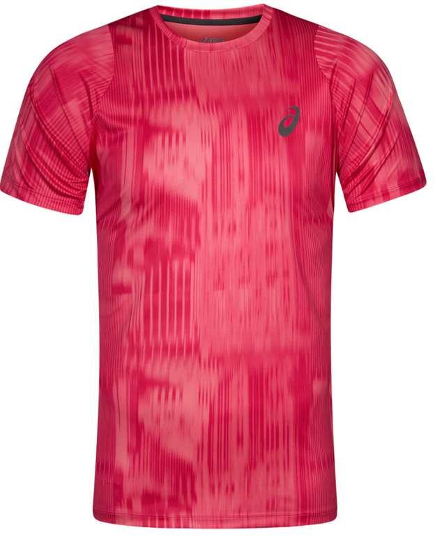 ASICS FuzeX Printed Herren Laufshirt in Rot für 17,94€inkl. Versand (statt 25€)