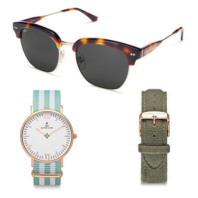 Kapten & Son: Bis zu 50% Rabatt auf Uhren, Sonnenbrillen, Rucksäcke und mehr