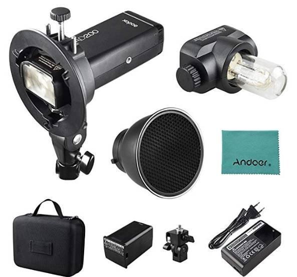 Godox AD200 Pocket Blitzlicht für Nikon, Sony, & Canon nur 288€ (statt 333€)