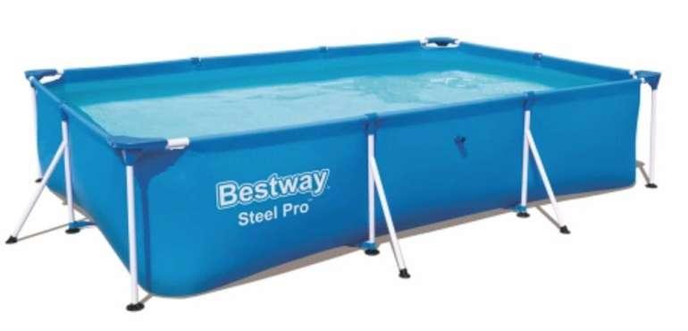 Bestway Steel Pro Pool (300 x 201 x 66 cm) für 64,95€ inkl. Versand (statt 76€)
