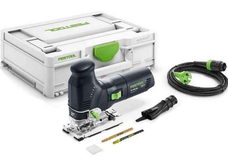 Festool Pendelstichsäge Trion PS 300 EQ-Plus + Systainer für 260,10€ inkl. Versand (statt 283€)