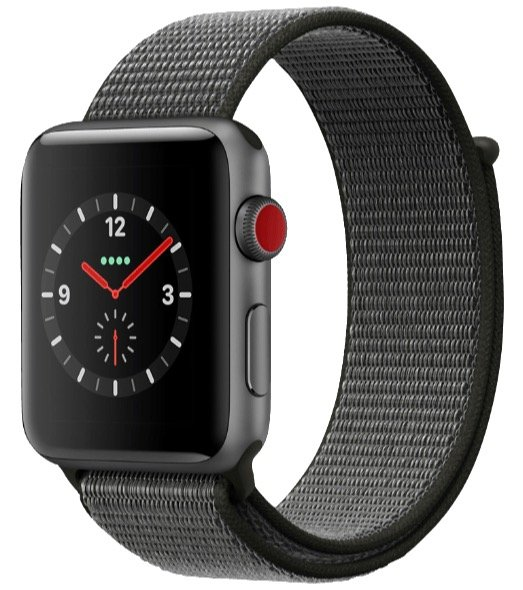 Apple Watch Series 3 (LTE) 42mm mit Nylon-Armband + Beats Powerbeats 3 für 479€
