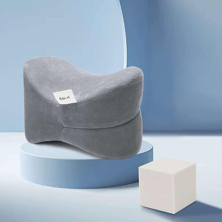 Essort Kniekissen für Seitenschläfer (25 × 18 × 17 cm) für 11,54€ inkl. Prime Versand (statt 21€)