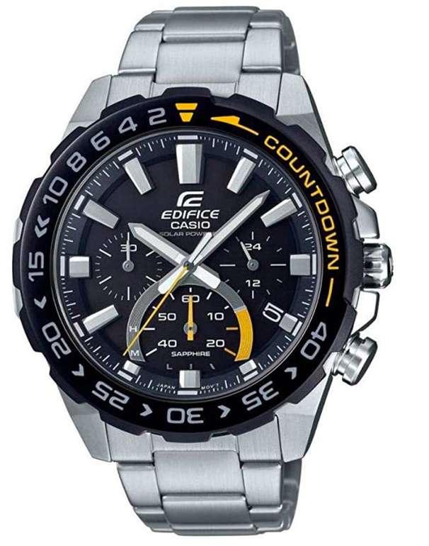 Casio EFS-S550DB Edifice Herren-Solararmbanduhr für 114,24€ inkl. Versand (statt 160€)