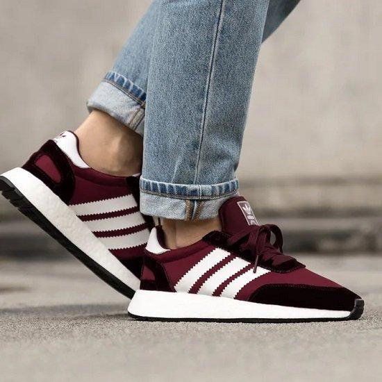 adidas I-5923 Damen Sneaker in Burgundy für 59€ inkl. VSK (statt 89€)
