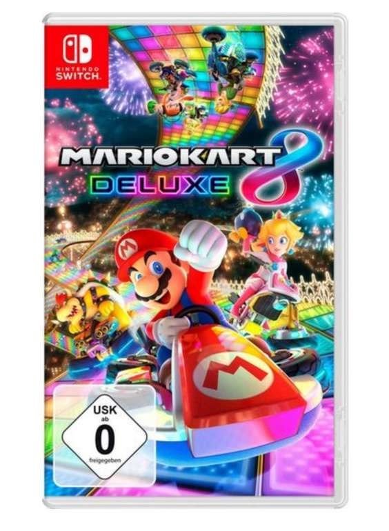 Mario Kart 8 Deluxe - Nintendo Switch für 43,19€ inkl. Versand (statt 50€)