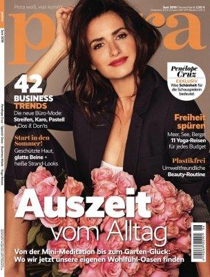 """Endet heute! Jahresabonnement der Zeitschrift """"petra"""" mit 10 Ausgaben für 2,95€"""