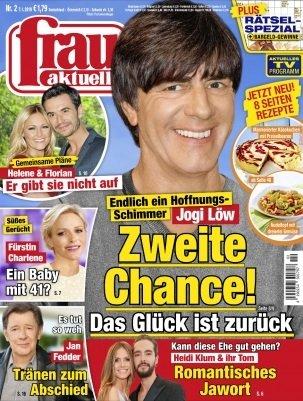 """13 Ausgaben der Zeitschrift """"Frau aktuell"""" für 27,40€ + 24€ Verrechnungscheck"""