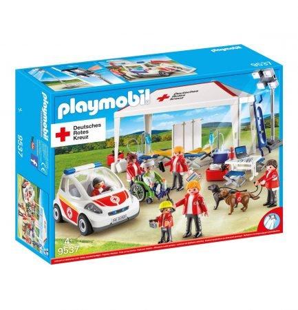 Playmobil DRK Versorgungszelt mit Notarzt-Einsatzfahrzeug (9537) für 20,94€