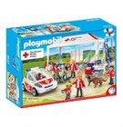 Playmobil DRK Versorgungszelt mit Notarzt-Einsatzfahrzeug (9537) für 21,34€