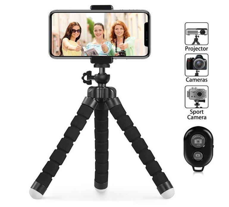 Prime: Mini Stativ für Kamera, Actioncam, Smartphone für 8,99€ (statt 10€)