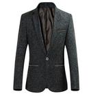 Youthup Herren Anzugjacke bzw. Sakko (Slim Fit, Fleece) für 30,54€ (statt 47€)