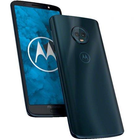 "Motorola Moto G6 - 5,7"" Smartphone (Dual SIM, 32 GB) in Deep Indigo für 131,98€"