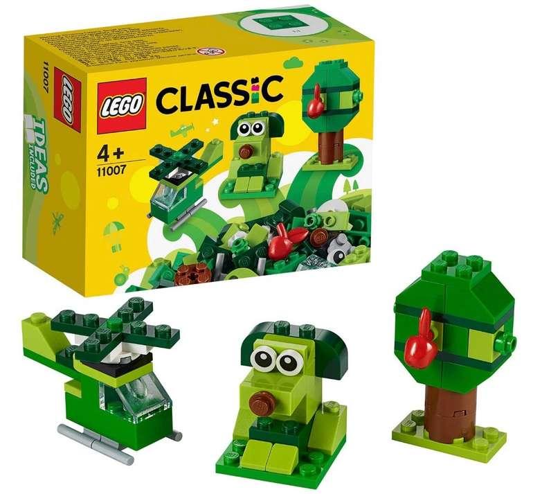"Lego Classic ""11007"" Grünes Konstruktionsspielzeug für 2,90€ bei Abholung (statt 7€)"