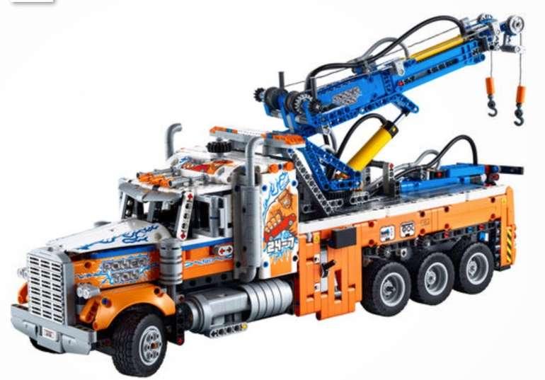 Lego Technic - Schwerlast-Abschleppwagen (42128) für 109€ (statt 126€) - Kundenkarte!