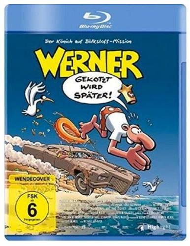 Werner - Gekotzt wird später! BluRay für 8,38€ inkl. Versand (statt 9,99€)