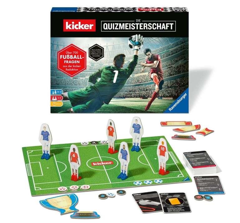 """Ravensburger Spiele (26288) """"Kicker Die Quizmeisterschaft"""" für 11,84€ (statt 21€) - Prime!"""