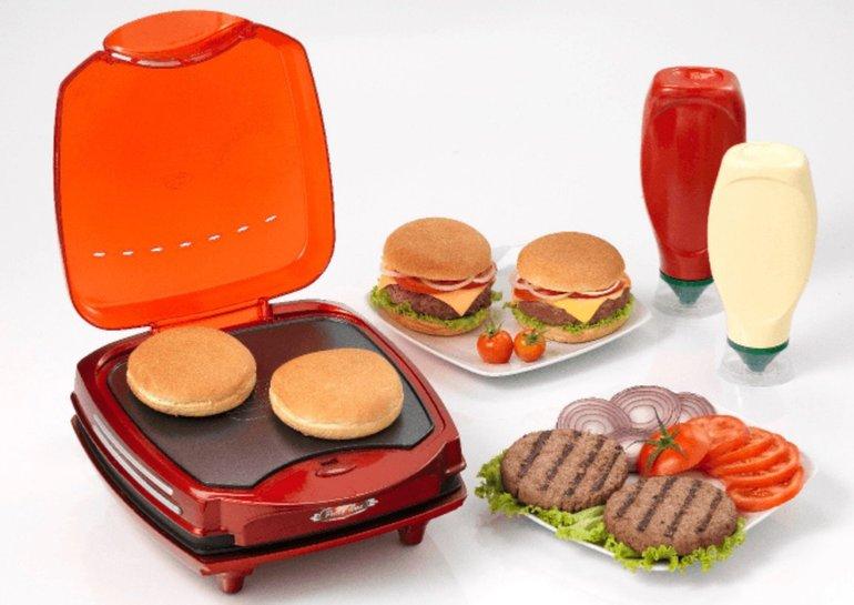 Lecker, in 5 Minuten zum Burger: Hamburger Maker von Ariete für 37€ statt 45€