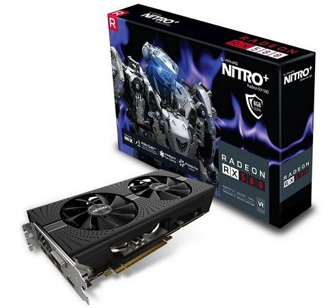 Sapphire Radeon RX 580 Nitro+ 8GB Aktiv PCIe 3.0 x16 für 190,89€ - Paydirekt!