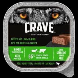 Crave Tierfutter für Hunde und Katzen gratis testen