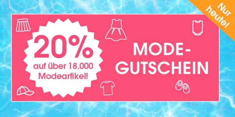 20% Rabatt auf Mode bei babymarkt