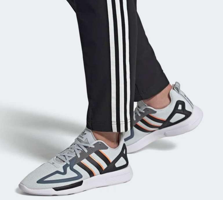 """adidas ZX 2K Flux Herren Schuhe in """"Clear-Grey/Core-Black"""" für 50,38€inkl. Versand (statt 63€)"""
