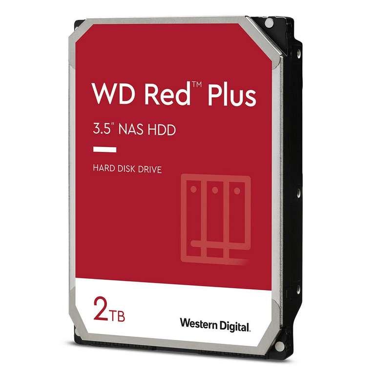 """Western Digital WD Red Plus (2TB, 3.5"""", SATA 6Gb/s) für 67,13€ inkl. Versand (statt 72€)"""