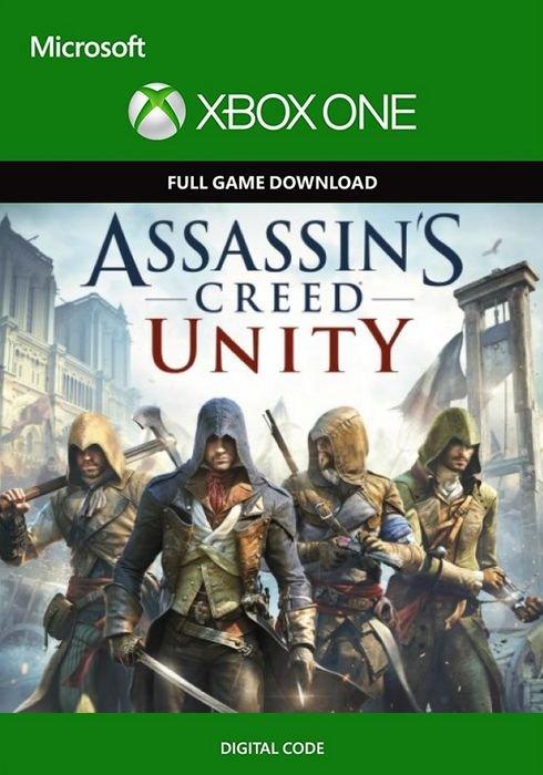 Assassin's Creed: Unity für Xbox One Digital Code für 0,59€ (statt 2€)