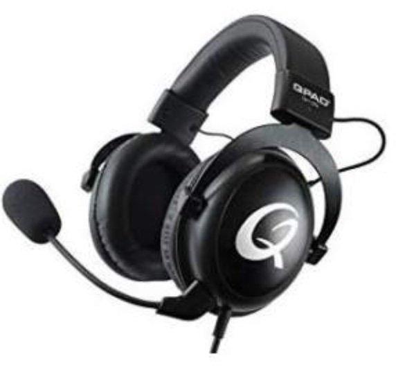 QPAD QH95 - kabelgebundenes Over-Ear Gaming Headset (baugleich zum HyperX Cloud II) für 61,99€ (statt 81€)