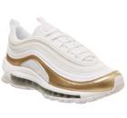 Nike WMNS Air Max 97 QS (GS) Sneaker in weiss/gold für 80€ inkl. Versand