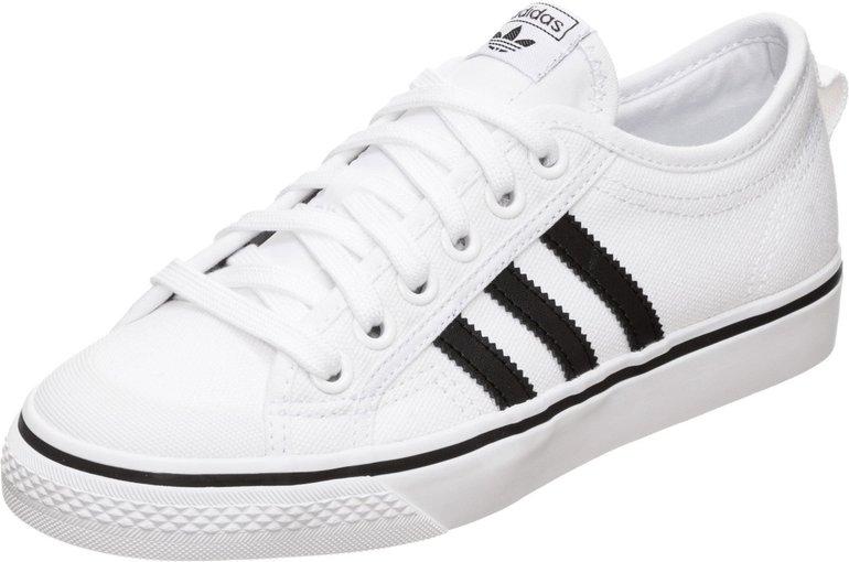Adidas Nizza Sneaker in Weiß für 46,86€ inkl. Versand