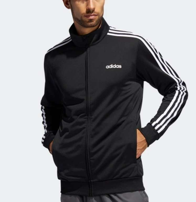 adidas M 3S R PS TT Herren Trainingsjacke für 23,08€ inkl. Versand (statt 33€) - Creators Club!