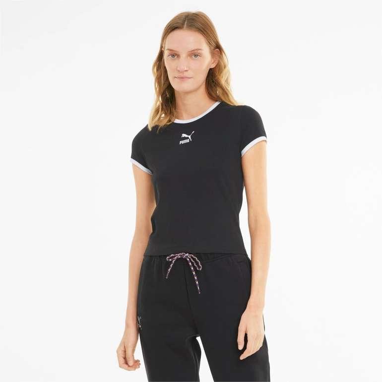 Puma Classics Fitted Damen T-Shirt in 2 Farben für je 11,96€ inkl. Versand (statt 15€)