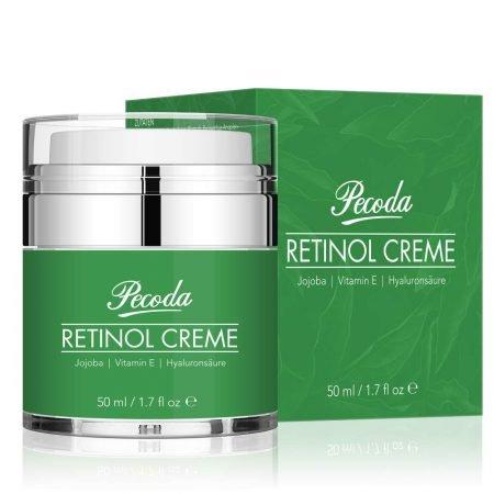 Pecoda - 50 ml Retinol Anti-Aging Feuchtigkeitscreme für 8,55€ (Prime)