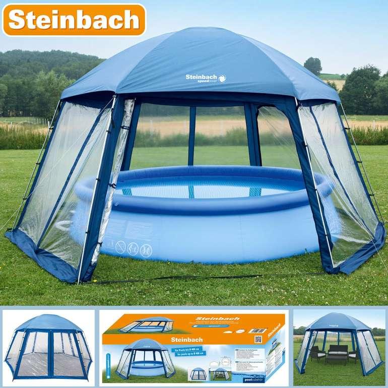 Steinbach Poolpavillion (Maße: 500x433x250cm) für 69,90€ inkl. Versand (statt 144€) - B-Ware!
