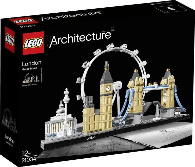 Lego Architecture 21034 - London für 25,22€ (statt 29€)