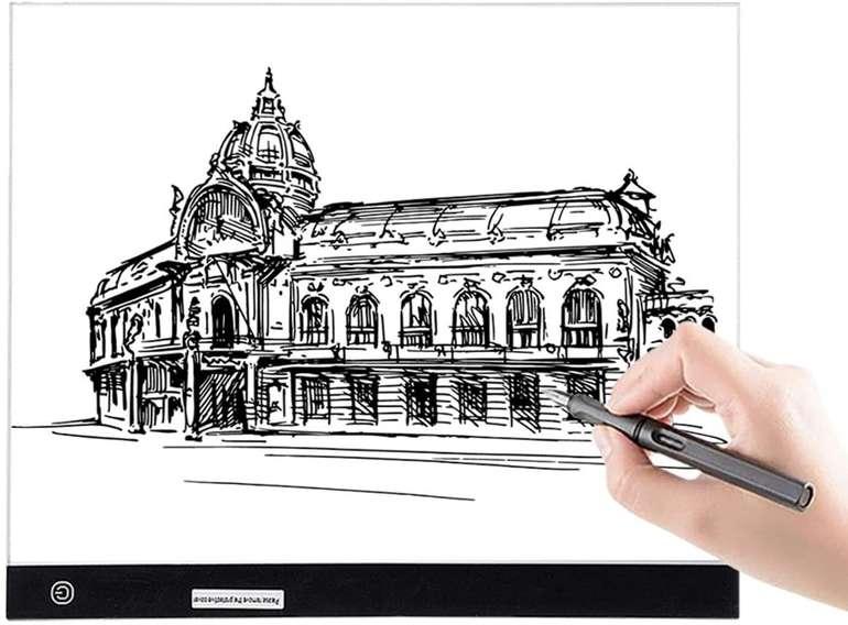 Gemitto A3 LED Light Pad Zeichenbrett für 23,80€ inkl. Versand (statt 34€)