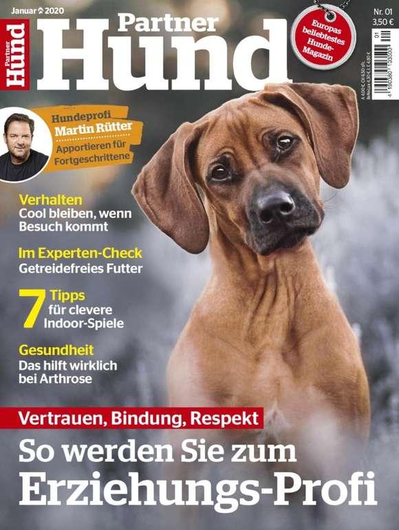 """Jahresabo der Zeitschrift """"Partner Hund"""" für 19,95€ (statt 46,80€)"""