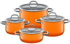 4-tlg. Silit Passion Kochgeschirr-Set in Orange für 214,95€ inkl. Versand