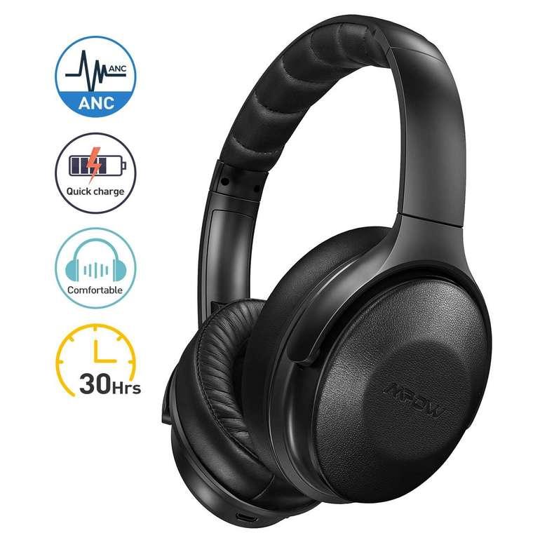 Mpow H17 Noise Cancelling Over Ear Kopfhörer für 34,99€ inkl. VSK