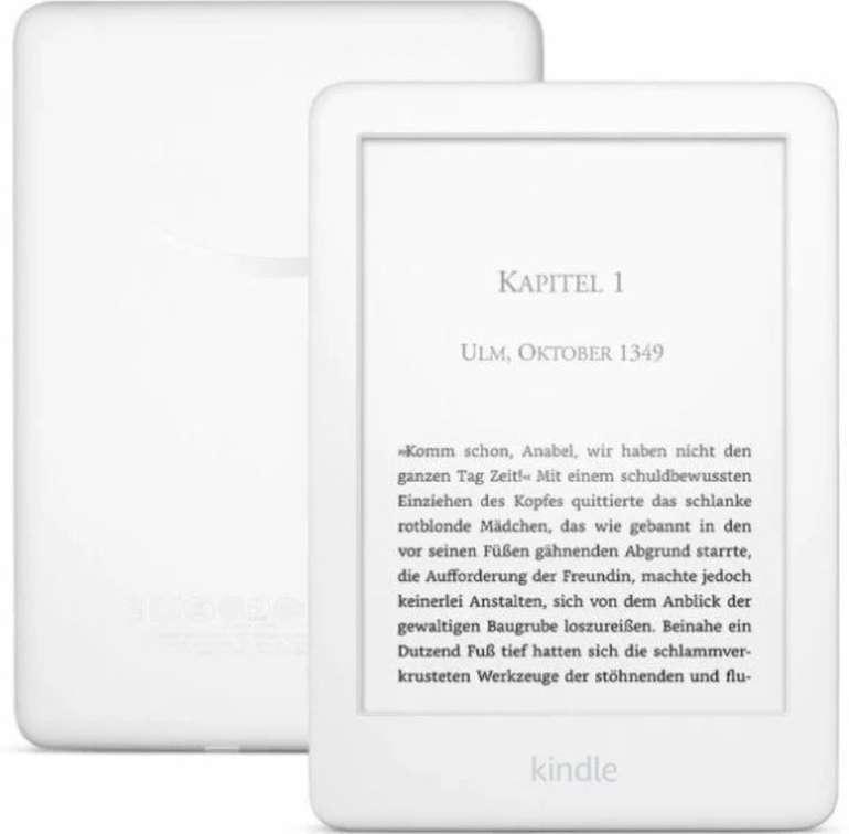 Amazon Kindle 6 (2019) in Weiß mit Frontlicht und Spezialangeboten für 48,98€ (statt 80€)