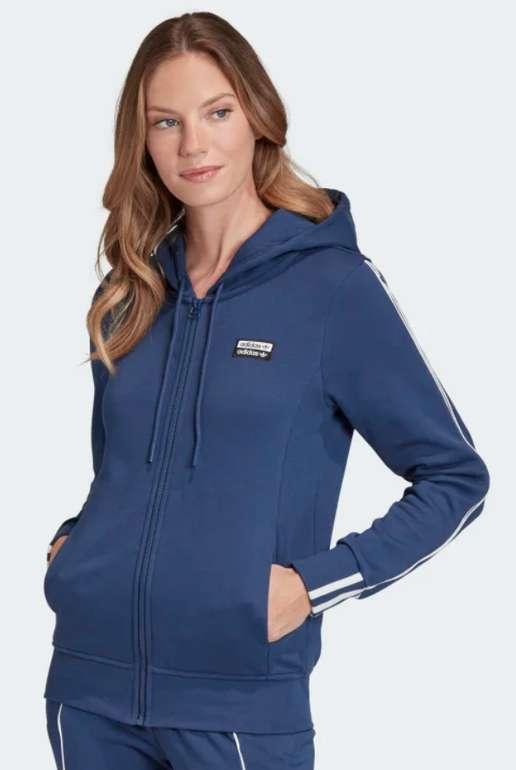 adidas Originals Damen Jacke in Blau für 25,98€ inkl. Versand (statt 33€)