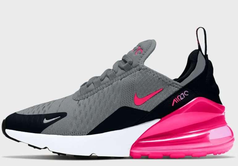 Nike Air Max 270 Kinder Sneaker (GS) in Hyper Pink für 80€inkl. Versand (statt 106€)