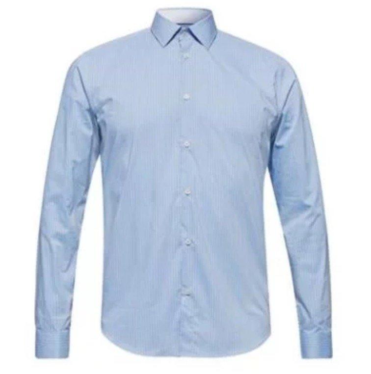 25% Rabatt auf Hemden (Olymp, Esprit, Jack & Jones, uvm.!) bei Tara-M - z.B. Esprit Hemd in blau für 19,95€