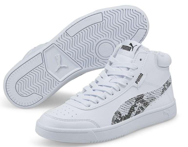 Puma Court Legend Reptile Damen Sneaker in Weiß für 37,95€inkl. Versand (statt 70€)