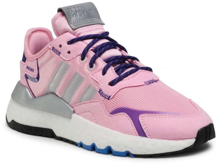 adidas Nite Jogger W Damen Sneaker in Rosa für 33€ inkl. Versand (statt 60€)