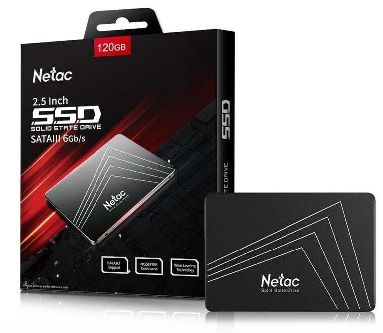 Netac 120GB - Interne SSD (2,5 Zoll, SATA III, 500mb/s) für 18,89€ inkl. Versand (statt 27€)