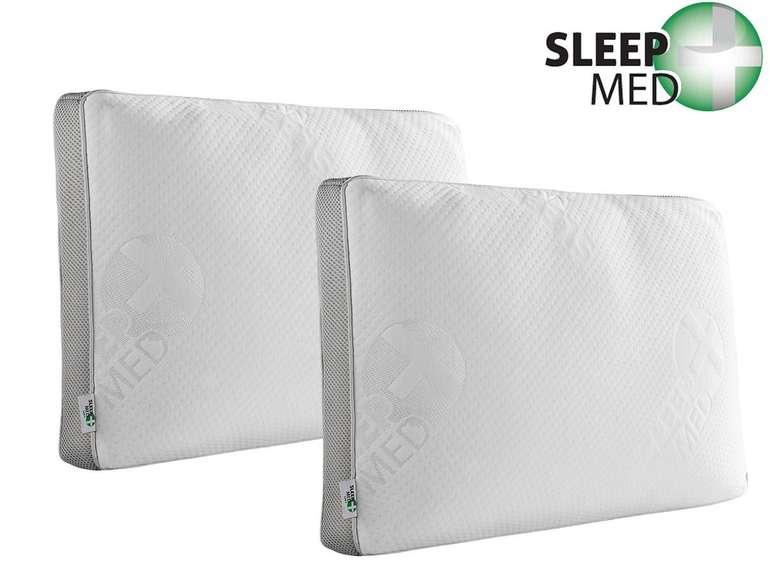 2x SleepMed Kopfkissen aus Memory Schaum für 25,90€ (statt 34€)